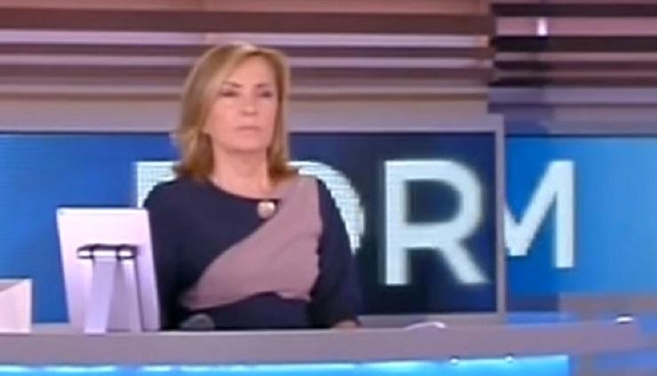 Barbara Palombelli senza parole a Forum