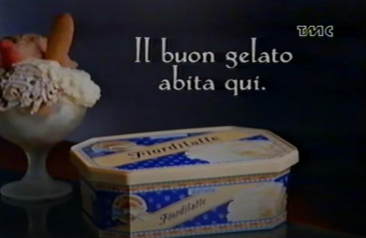 Ti sblocco un ricordo, spot La Cremeria 1994