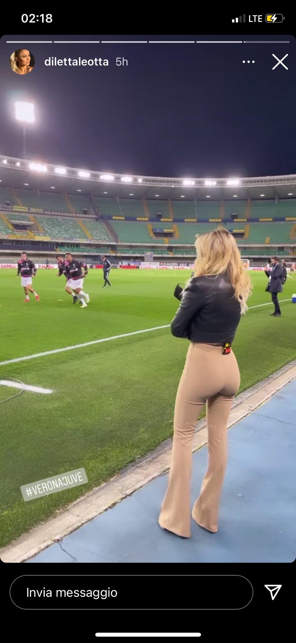 Diletta Leotta fondoschiena pantaloni