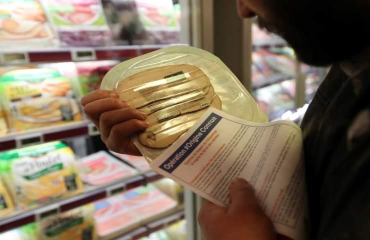 Piano per le etichette anti-cancro cibo e bevande