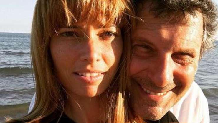 Fabrizio Frizzi e Carlotta Mantovan - Instagram