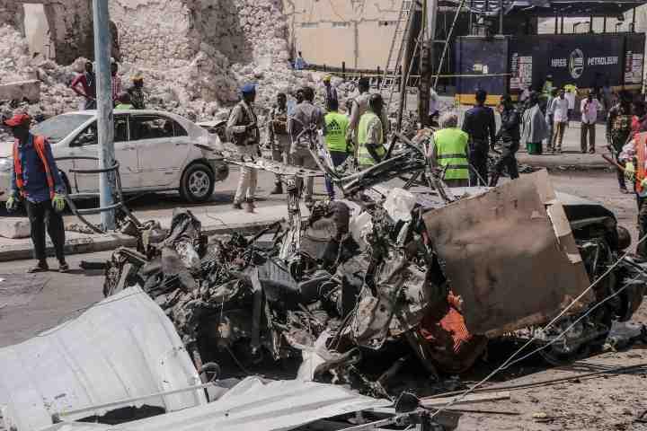 Autobomba a Mogadiscio