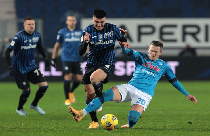 Zielinski e Sutalo Atalanta Napoli