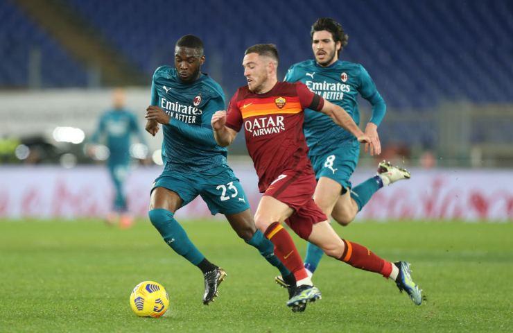 Roma-Milan serie a