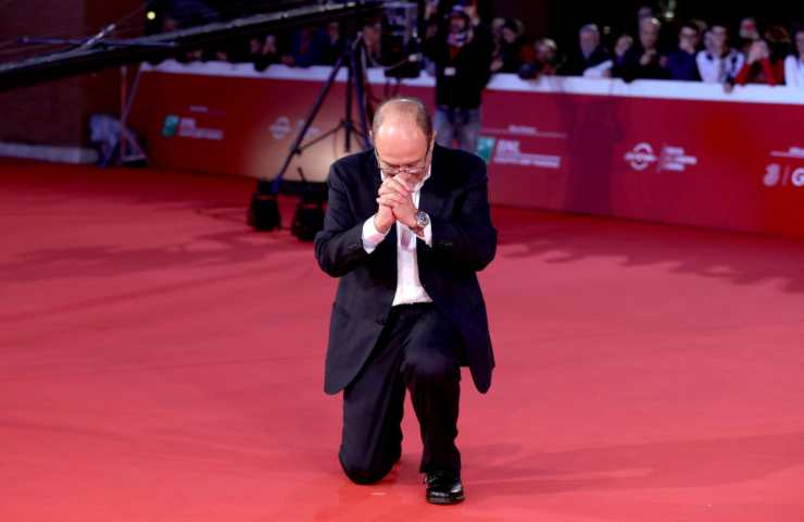 Carlo Verdone - Borotalco Red Carpet - 12th Rome Film Fest