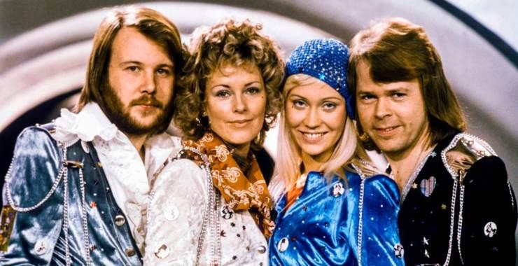 Gli ABBA nel 1974 - Getty Images