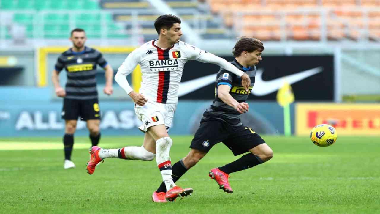 Inter-Genoa tabellino pagelle