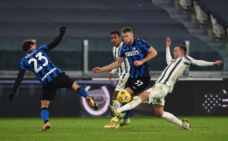 Juventus-Inter, foto getty