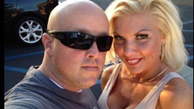 Kat West e il marito Jeff West- Facebook