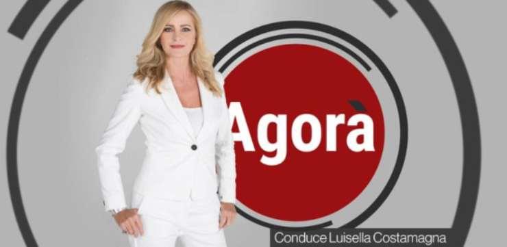 I programmi cambiano registro, come Agorà di Luisella Costamagna
