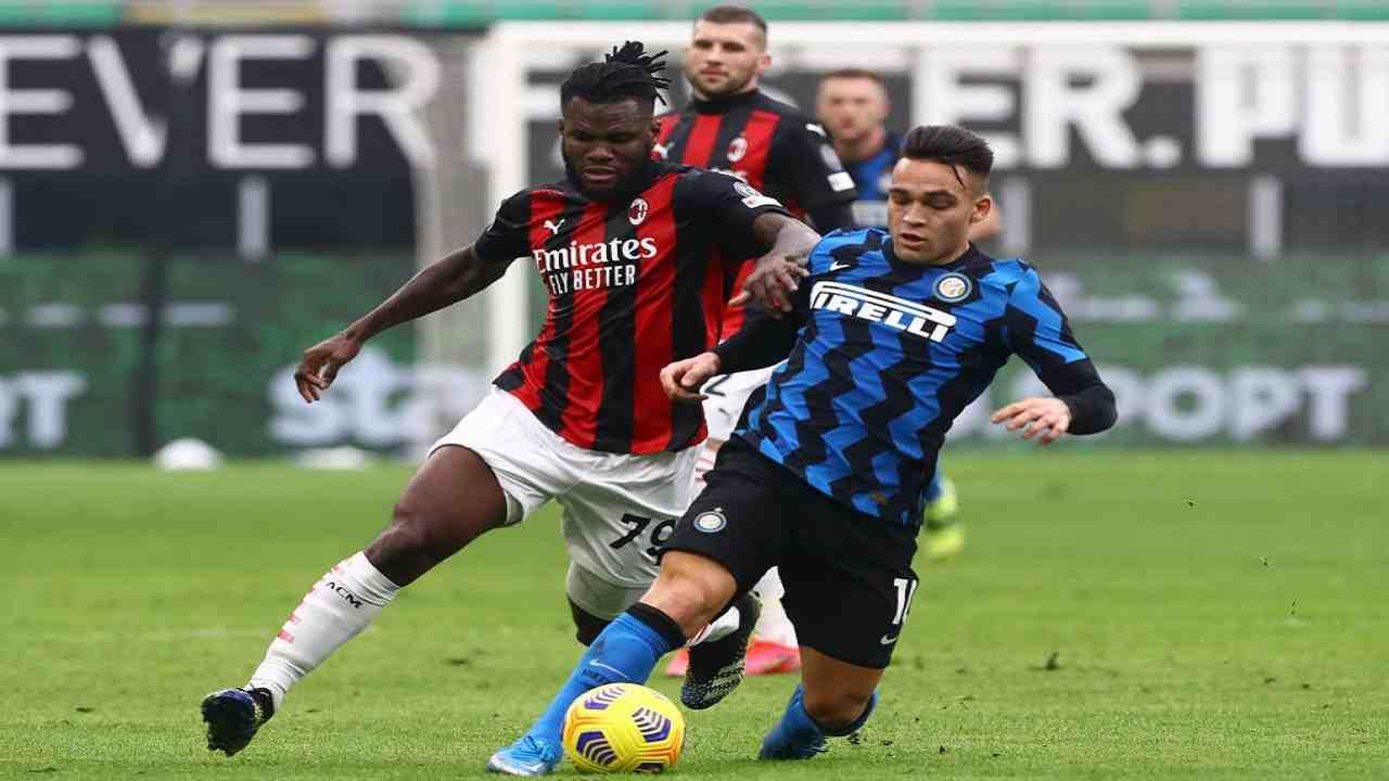 Milan-Inter tabellino pagelle derby