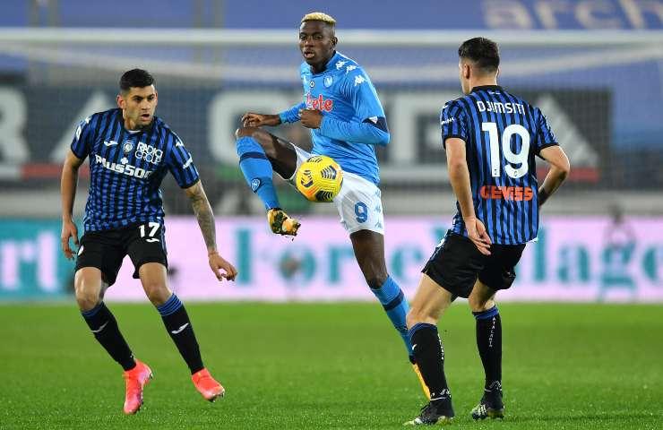 Atalanta-Napoli pagelle tabellino