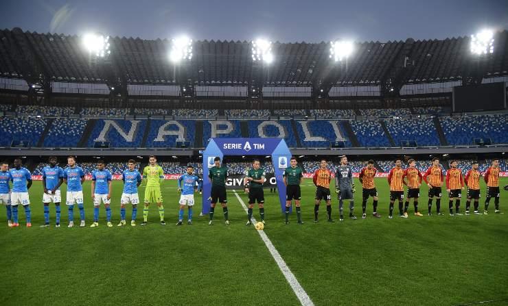 Napoli-Benevento pagelle tabellino