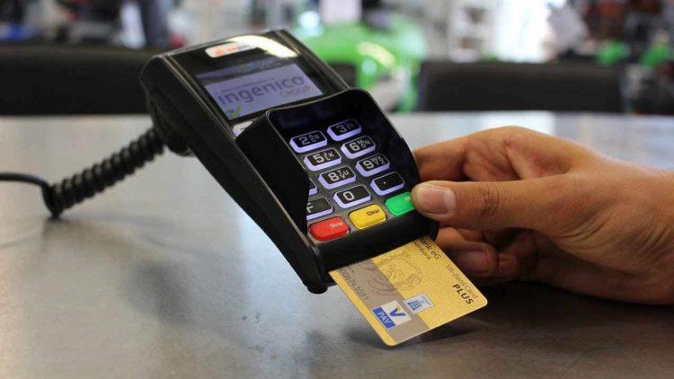 Pagamento pos col bancomat per il cashback