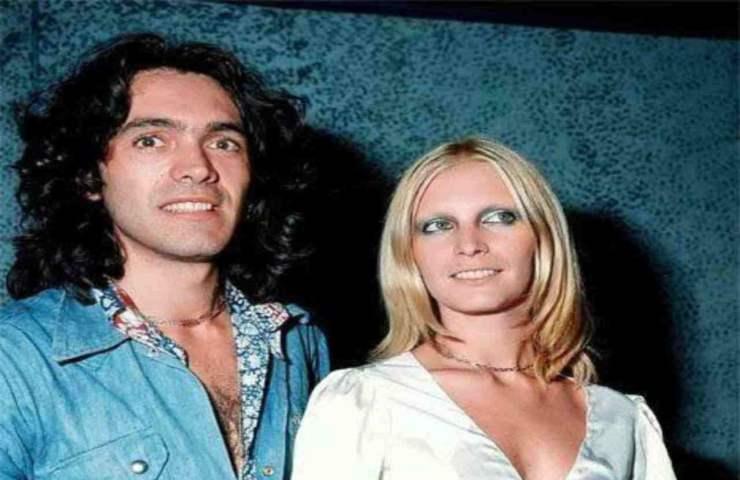 Riccardo Fogli e l'amore travolgente con Patty Pravo