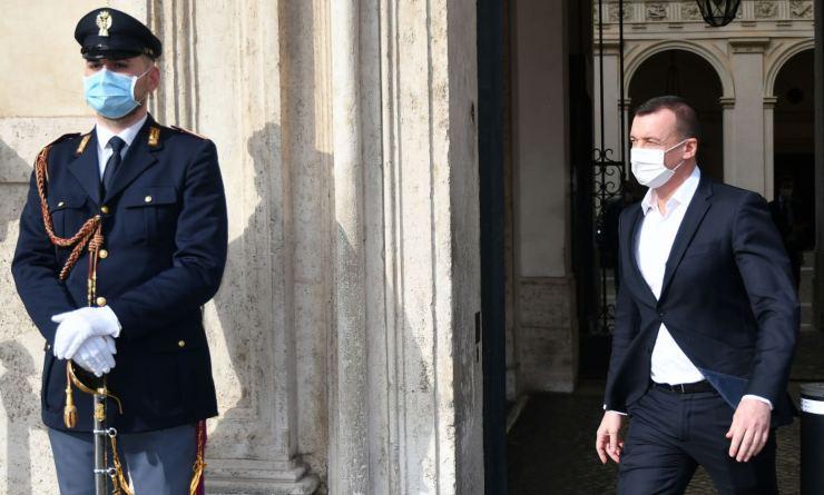 Rocco Casalino lascia Palazzo Chigi - Getty Images