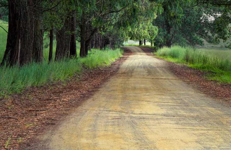 Strada di campagna - pixabay