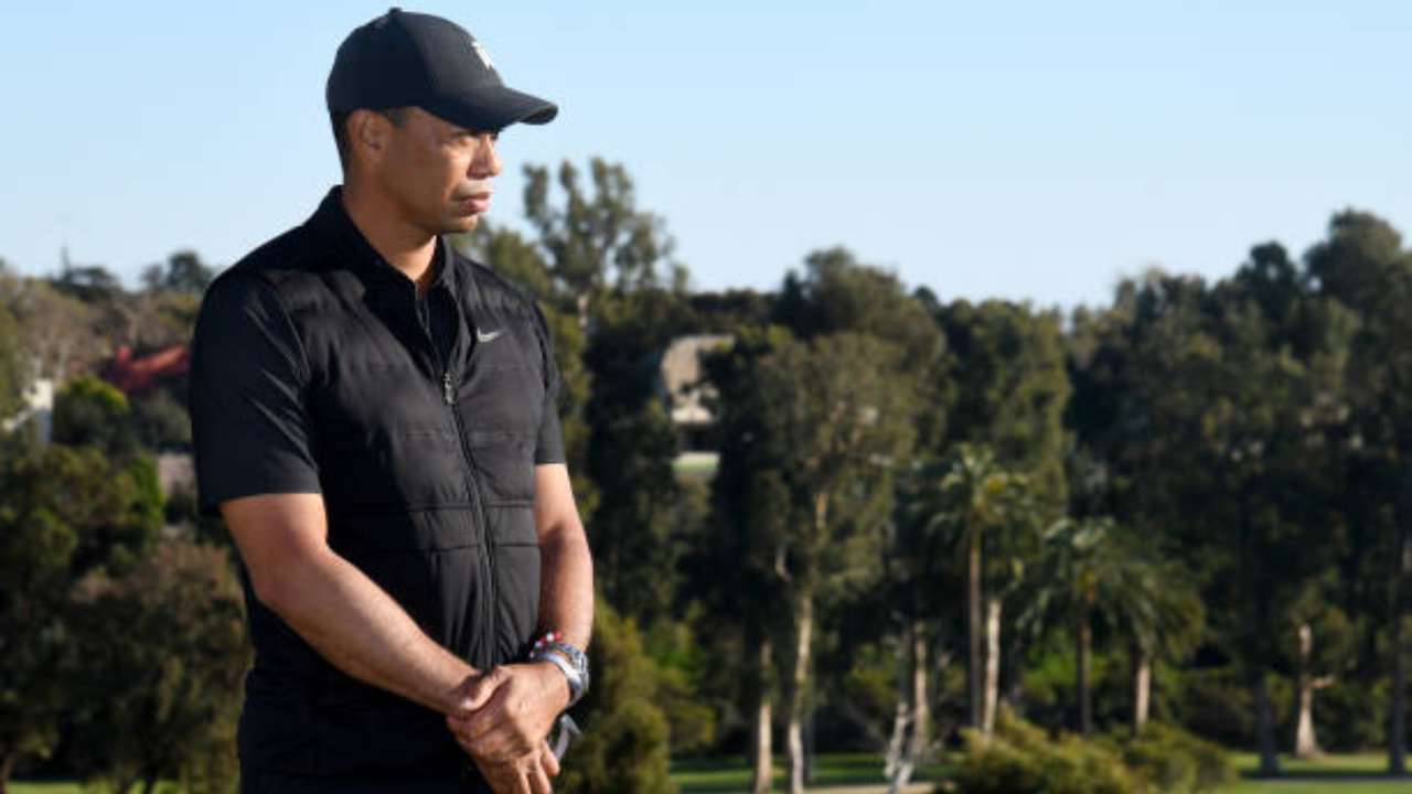 Il golfista Tiger Woods