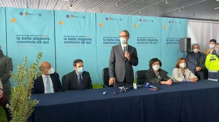 A Palermo primo centro vaccini in Sicilia