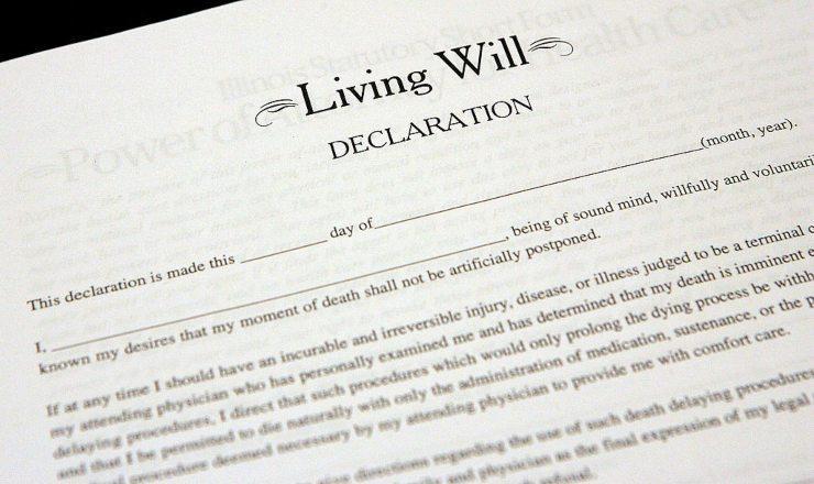 muore a 96 anni testamento eredità
