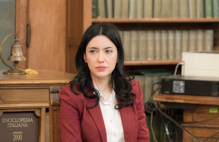La ministra Lucia Azzolina