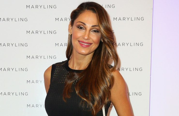 Anna Tatangelo outing commovente