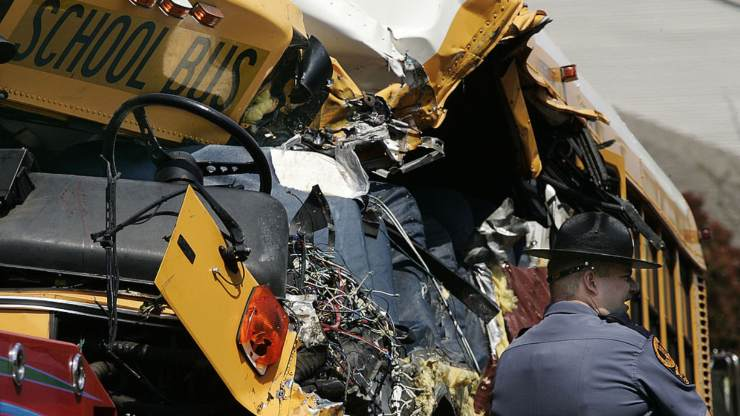 Autobus incidente