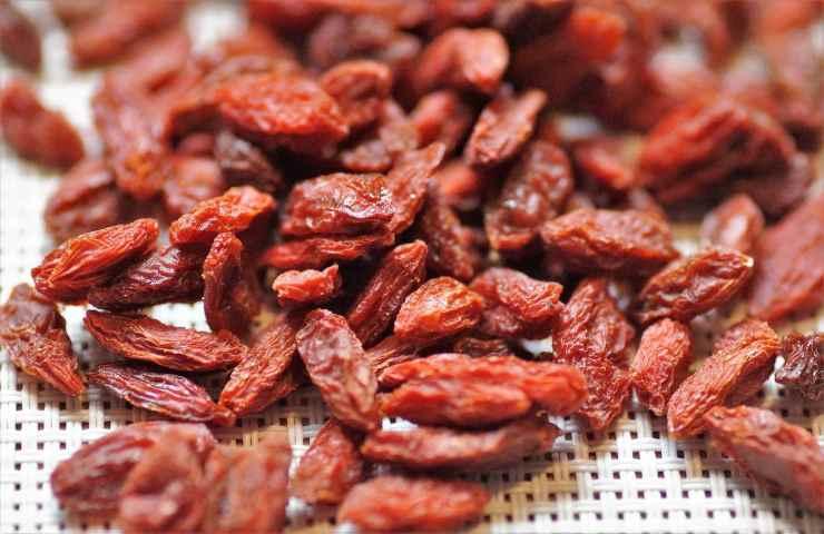Allerta alimentare carbofuran Bacche di Goji