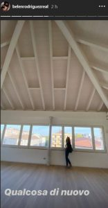 Belen Rodriguez interno nuova casa Milano