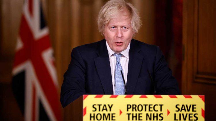 Boris Johnson Covid vaccino Astrazeneca