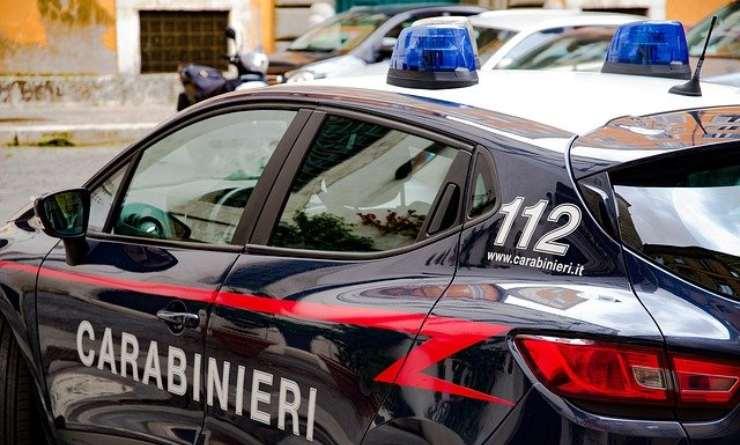 Scontro frontale fra due moto, sul posto i carabinieri