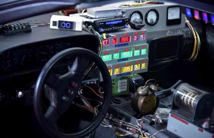 DeLorean all'asta