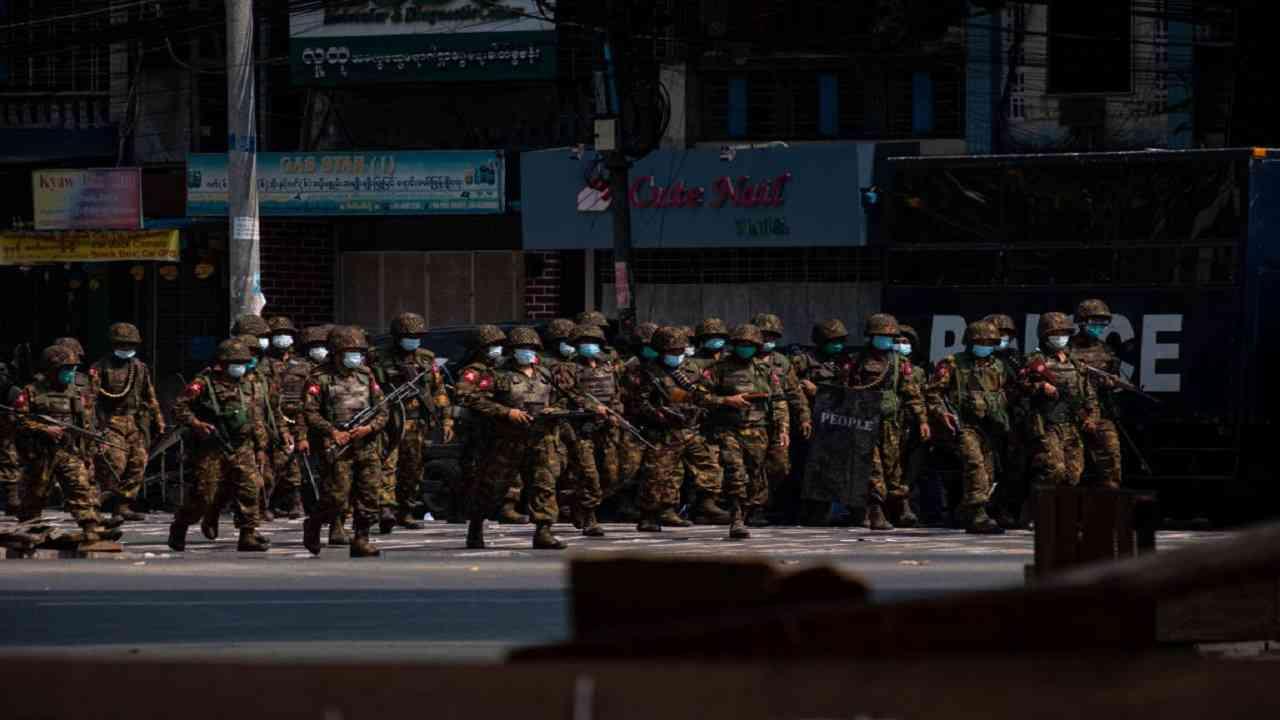 Esercito Myanmar