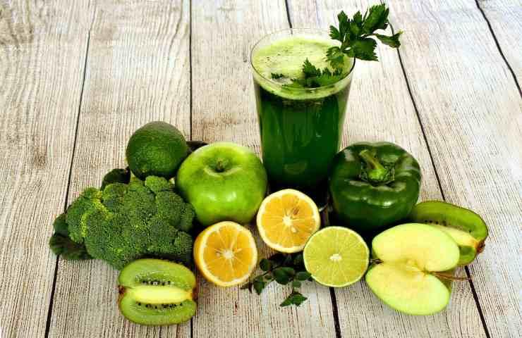 Frutta e verdura di colore verde, proprietà ed usi in cucina