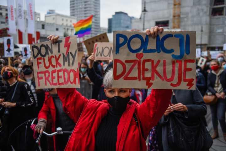 scioperto pro aborto polonia