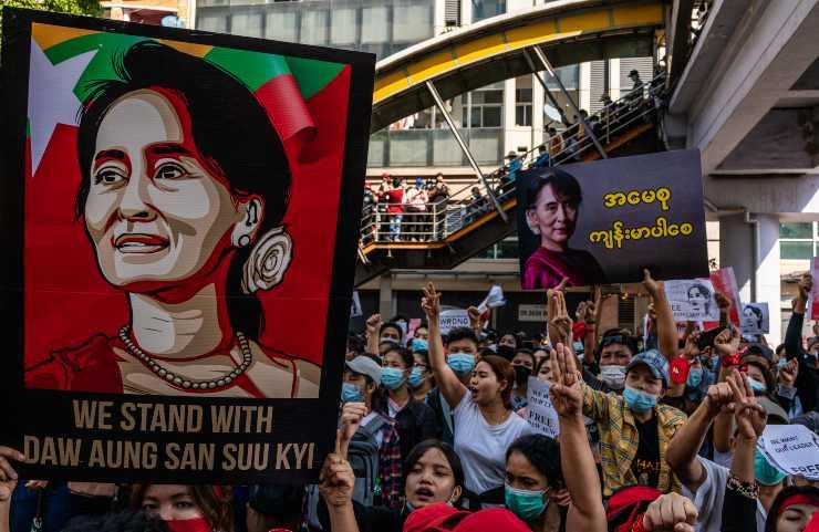 birmania colpo di stato