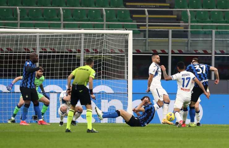 Inter Atalanta serie A