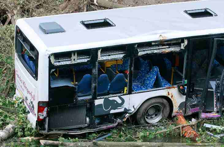 incidente autobus indonesia