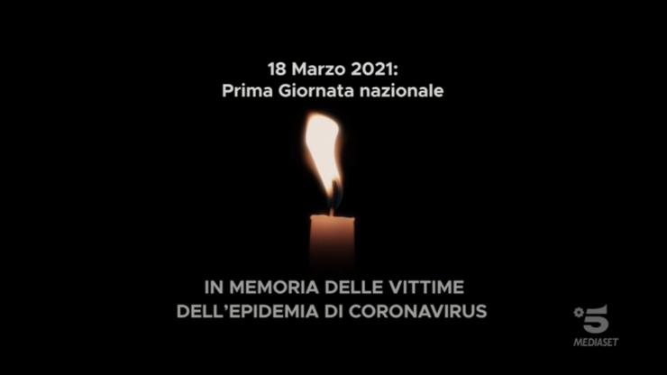 Mattino Cinque giornata nazionale vittime covid