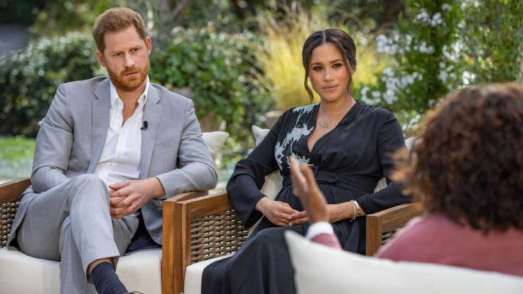 Harry e Meghan Markle intervista principe Filippo