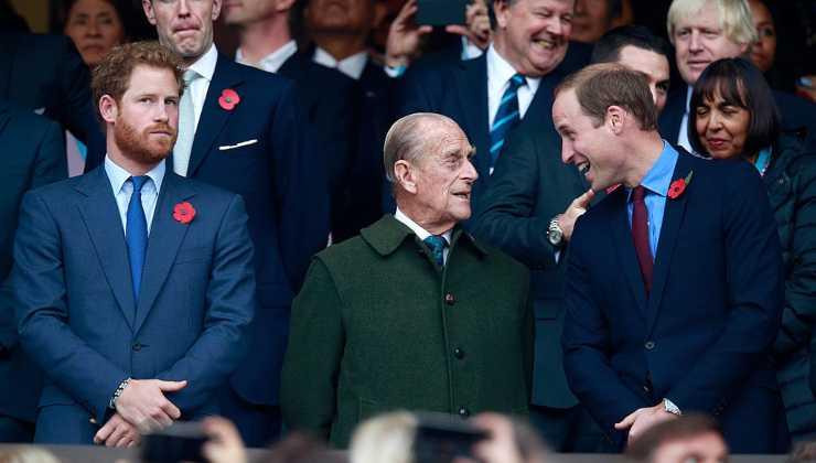Harry, William, Principe Filippo