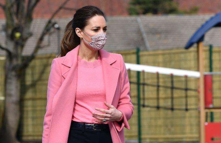 Kate Middleton rosa pastello primavera estate 2021