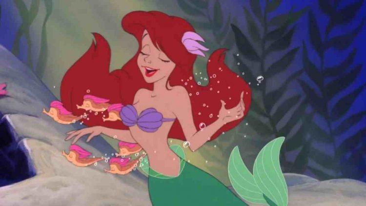 Sirenetta Disney set Italia
