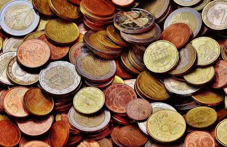 Monete antiche 1977 tesoro nascosto