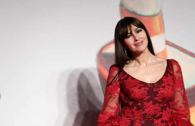 Monica Bellucci Dolce & Gabbana Primavera 2021