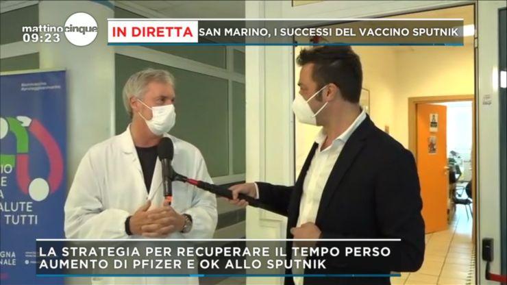 Mattino Cinque San Marino Vaccino Sputik