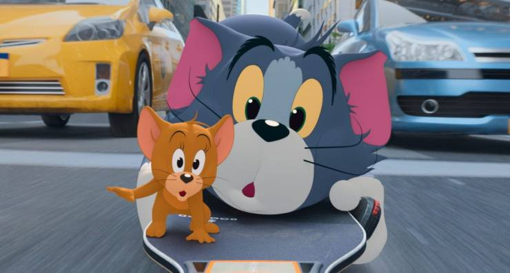 Paolo Bonolis in Tom e Jerry