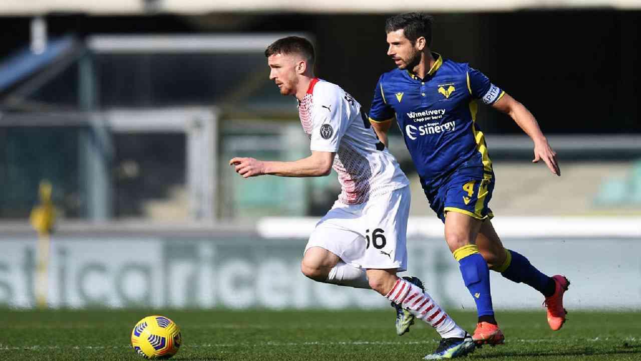 Verona-Milan tabellino pagelle