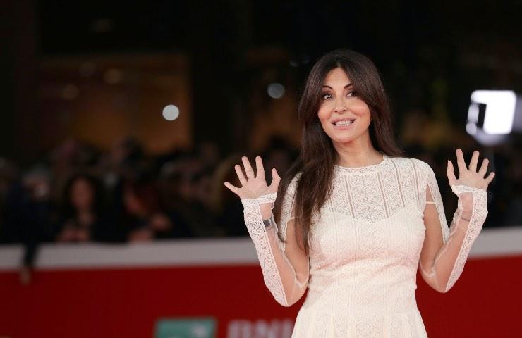 Sabrina Ferilli abito primavera 2021