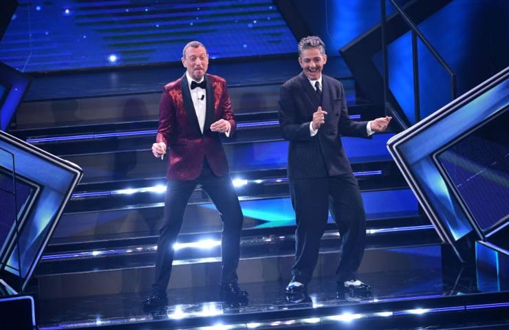 Fiorello scherzo a Sanremo 2021